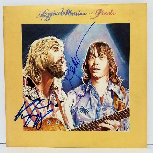 "LOGGINS & MESSINA Signed Autographed ""FINALE"" Album LP PSA/DNA #Y67049"
