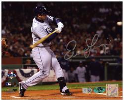 "Evan Longoria Tampa Bay Rays ALCS Autographed 8"" x 10"" Photograph"