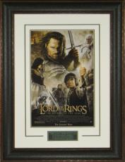Lord of the Rings The Return of the King unsigned 20x28 Masterprint Poster Leather Framed (movie/entertainment/photo)