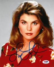 Lori Loughlin Signed Authentic Autographed 8x10 Photo PSA/DNA #AC57898
