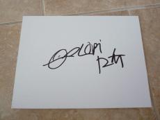 Lori Petty Orange Is The New Black Signed Autographed 9X12 Sketch PSA Guaranteed