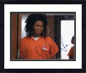 Lorraine Toussaint signed Orange is The New Black 8x10 Photo w/COA