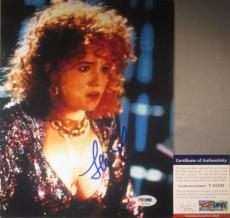 LORRAINE W/ BOOBS! Lea Thompson Signed BACK TO THE FUTURE 8x10 Photo #2 PSA/DNA