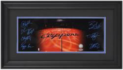 NBA Los Angeles Clippers Mini Panoramic Photo with Facsimile Signitures - Mounted Memories
