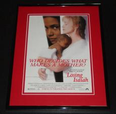 Losing Isaiah 1995 11x14 Framed ORIGINAL Advertisement Halle Berry Jessica Lange