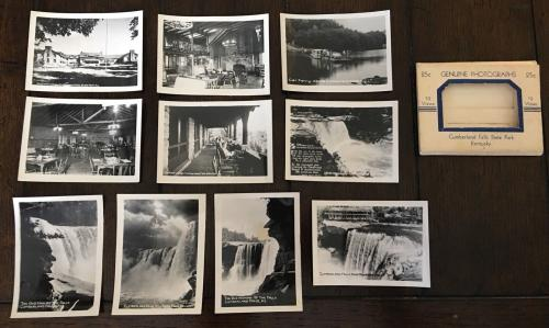 Lot 10 Vintage Photos CUMBERLAND FALLS KY 1950s Genuine Real State Park Kentucky