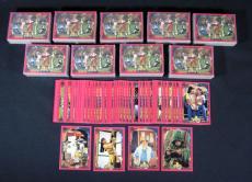 Lot of (10) 1994 Saban/Collect-A-Card Power Rangers Series 2 Retail Set (72)