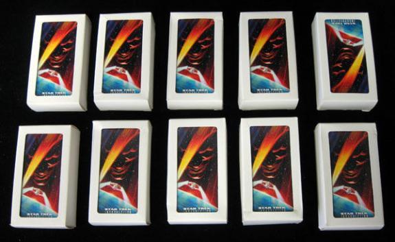 Lot of (10) 1998 Skybox Star Trek Insurrection Wide Vision Set (72) NM/MT