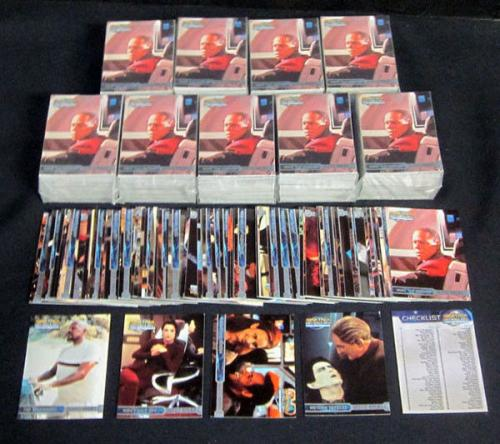 Lot of (10) 1999 Skybox Star Trek DS9 Memories From The Future Set (100) Nm/Mt