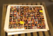 Lot of (100) 1995 Cardz WCW Main Event Uncut Sheet (100 Cards) Sheet B Sting