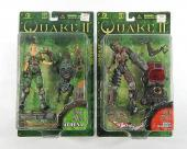 Lot of (2) 1998 Resaurus Quake II Action Figures NIP ^ Athena & Iron Maiden