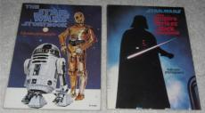 Lot of (2) Vintage 1978 & 1980 Star Wars & Empire Strikes Back Storybooks Photos