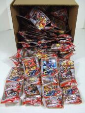 Lot of (200) 2011 BANDI Power Rangers Samurai Figure Packs Plus Cards