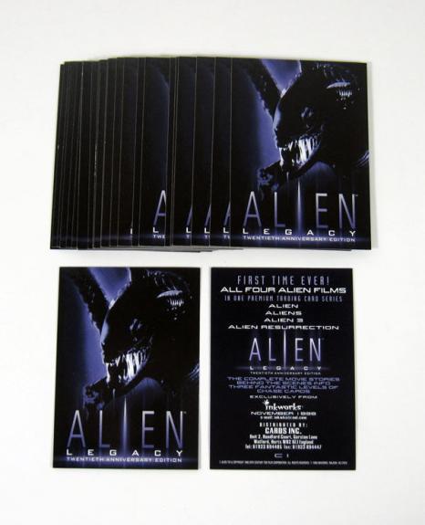 Lot of (25) 1998 Inkworks Alien Legacy Promo Card (C1) Cards Inc UK Nm/Mt
