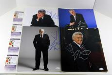 Lot of (4) Jay Leno Signed 11x14 Color Photos Tonight Show JSA Autos