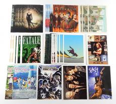 Lot of (40) Postcards ^ KISS Slash AC/DC Beautiful Creatures Merlin Anime Comic
