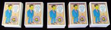 Lot of (5) 1994 Skybox Series 2 The Simpsons Trading Card Set (80) NM/MT