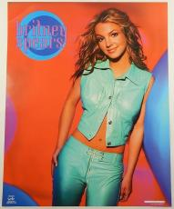"""Lot of (5) 2001 Britney Spears 16"""" x 20"""" Posters by Funky ^ Very Rare"""