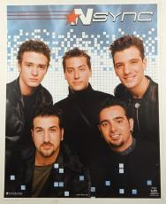 """Lot of (5) 2001 NSYNC 16x20"""" Posters by Funky ^ Justin Timberlake Lance N Sync"""