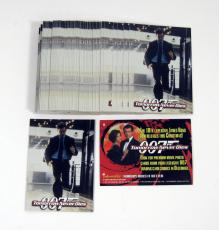 Lot of (50) 1997 Inkworks James Bond 007 Tomorrow Never Dies Promo Card (#0)