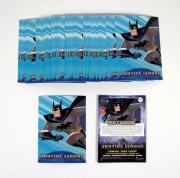 Lot of (50) 2001 Inkworks Justice League Batman Promo Card (#2)