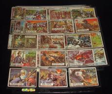 Lot of 70 Different 1962 Topps Civil War News Non-Sports Cards-Overall VG-EX/EX