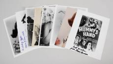 Lot of (8) Famous Actress Signed Ginger Rogers, Doris Day, 8×10 Photos – JSA