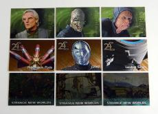 Lot of (9) Diff 1997 Skybox Star Trek Voyager Season Two SP Cards (191-199) Nm
