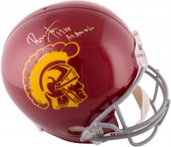 Ronnie Lott USC Trojans Autographed Replica Helmet with 1980 All American Inscription