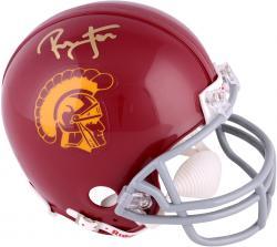 Ronnie Lott USC Trojans Autographed Riddell Mini Helmet