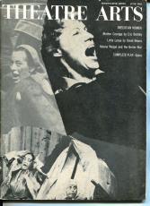 Lotte Lenya Stephen Sondheim Gypsy June 1962 Theatre Arts Monthly Magazine