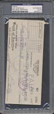 Lou Costello Signed Check PSA/DNA Certified Authentic Auto Autograph *4237