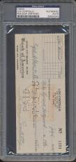 Lou Costello Signed Check PSA/DNA Certified Authentic Auto Autograph *4243