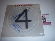 Lou Gramm,mick Jones Foreigner 4 Jsa/coa Signed Lp Record Album