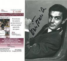 Louis Jourdan Signed James Bond Villain Authentic 5x7 Photo (JSA) #E51349