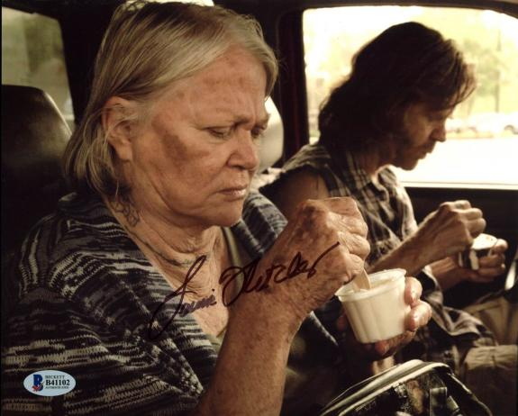 Louise Fletcher Shameless Signed 8X10 Photo Autographed BAS #B41102