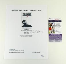 Louise Fletcher Signed Cuckoo's Nest Script Cover Page JSA Auto