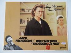 Louise Fletcher Signed 'Miss Ratched' Cuckoos Nest 11x14 Lobby Card (PSA/DNA)