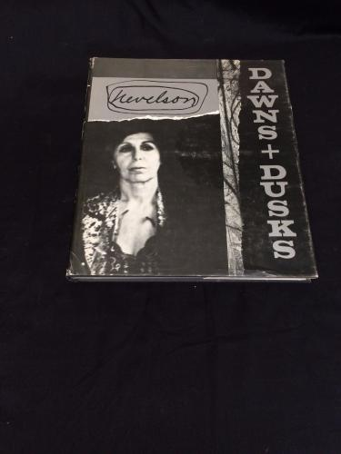 Louise Nevelson Dawns And Dusk Signed Autograph 1st Edition Hardback Book