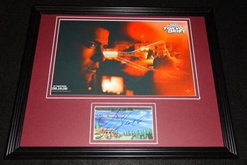 Lucas Black Signed Framed 11x14 Photo Display Fast & Furious