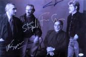 Lucas Coppola Scorsese Spielberg Multi Signed 12X18 Photo Directors JSA Z47222