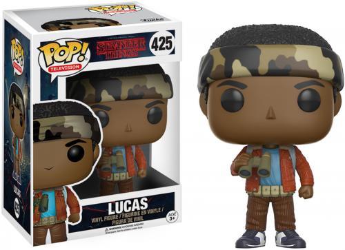 Lucas Stranger Things in Camo #425 Funko Pop!