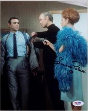 Luciana Paluzzi James Bond Signed 8x10 Photo PSA/DNA Auto Sean Connery