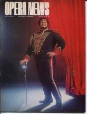 Luciano Pavarotti Carl Wigren Louis-Desire Veron Birgit Nilsson 1973 Opera News