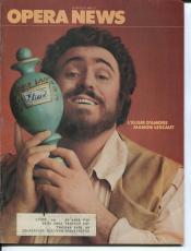 Luciano Pavarotti Marilyn Horne Brent Ellis Gaetano Donizetti 1981 Opera News