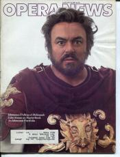 Luciano Pavarotti Maurice Maeterlinck Frederica Von Stade Jan 15 1983 Opera News