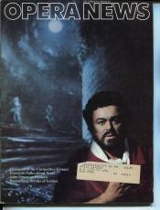 Luciano Pavarotti Nicola Ivanoff Victor Hugo Giuseppe Verdi Dec 1983 Opera News