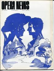 Luciano Pavarotti Roy Lichtenstein Antonietta Stella Dec 21 1968 Opera News