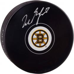 Milan Lucic Boston Bruins Autographed Puck