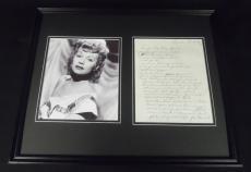 Lucille Ball 16x20 Framed ORIGINAL Big Gang Special Recipe & Photo Display